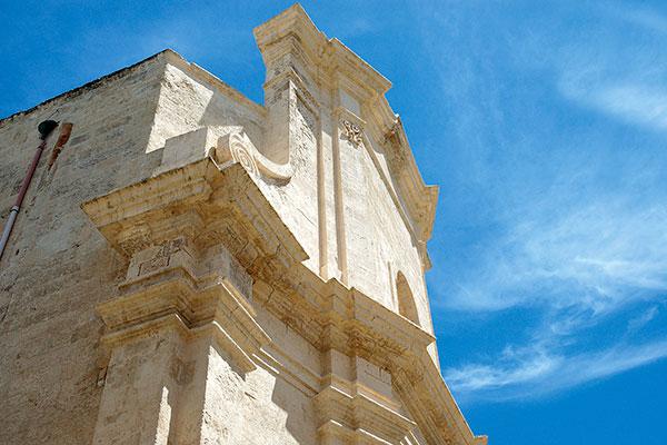 Esterno Chiesa del Purgatorio Polignano-a-mare