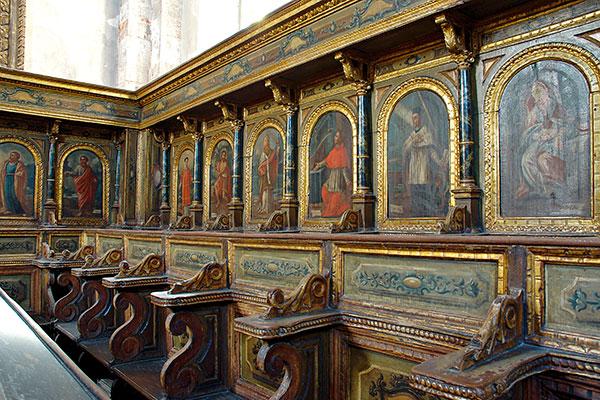 coro chiesa matrice Polignano
