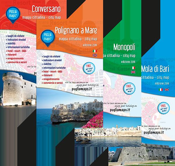 mappe Puglia Maps