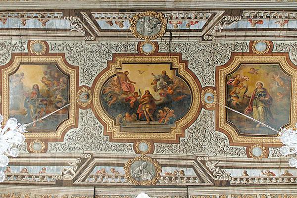 transetto chiesa matrice Polignano