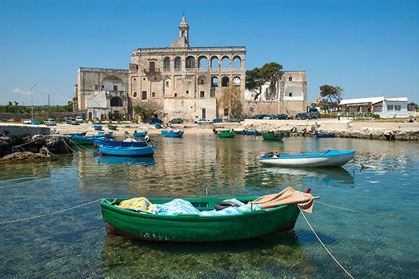 Abbazia San Vito - porto - Polignano a mare