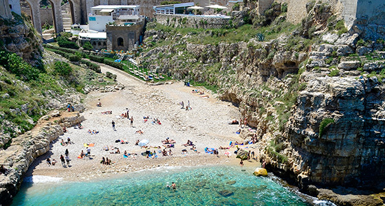 Spiaggia Lama Monachile - Polignano a Mare